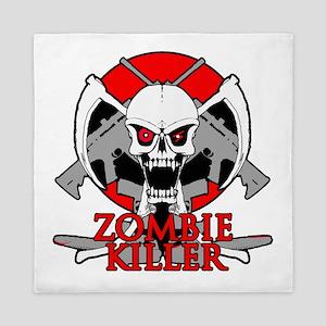 Zombie killer red Queen Duvet