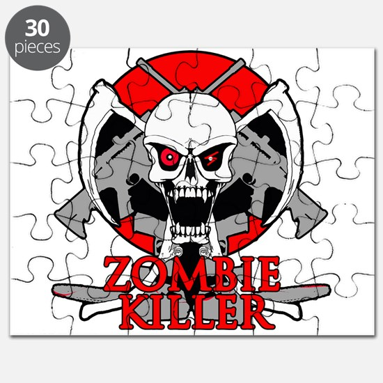 Zombie killer red Puzzle