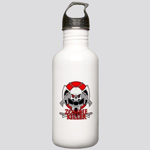 Zombie killer red Stainless Water Bottle 1.0L