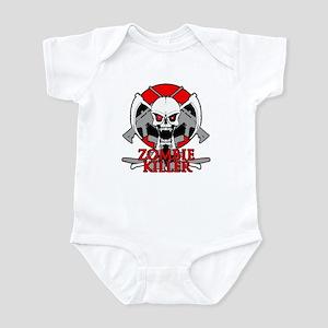 Zombie killer red Infant Bodysuit