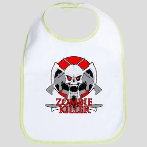 Zombie killer red Bib