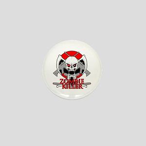 Zombie killer red Mini Button