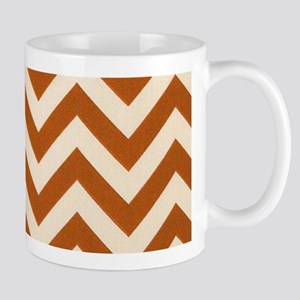 Rust Chevron Zigzags Mug