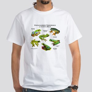 Endangered Tree Frogs of Costa Rica White T-Shirt
