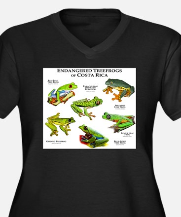 Endangered Tree Frogs of Costa Rica Women's Plus S