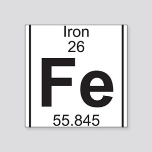 Element 26 Fe Iron Full Sticker