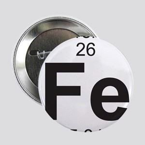 "Element 26 - Fe (iron) - Full 2.25"" Button"