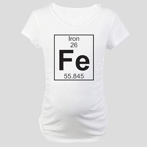 Element 26 - Fe (iron) - Full Maternity T-Shirt
