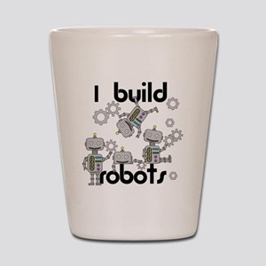 I Build Robots Shot Glass