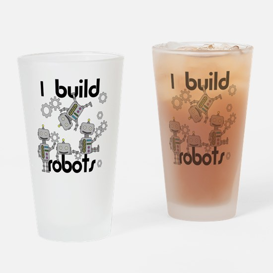 I Build Robots Drinking Glass