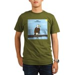 Animal Overachievers - Scout Eagle Organic Men's T