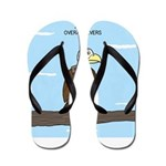 Animal Overachievers - Scout Eagle Flip Flops