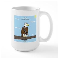 Animal Overachievers - Scout Eagle Large Mug