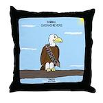 Animal Overachievers - Scout Eagle Throw Pillow