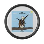Animal Overachievers - Scout Eagle Large Wall Cloc