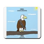 Animal Overachievers - Scout Eagle Mousepad