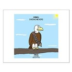 Animal Overachievers - Scout Eagle Small Poster