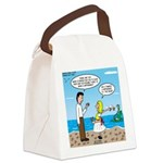 Starfish Story Canvas Lunch Bag