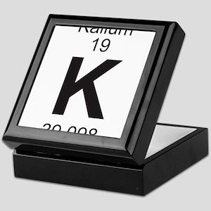 Element 19 - K (kalium) - Full Keepsake Box