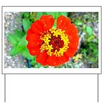 red flower Onondaga State Park Mo f Yard Sign