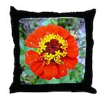 red flower Onondaga State Park Mo f Throw Pillow