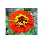 red flower Onondaga State Park Mo f Throw Blanket