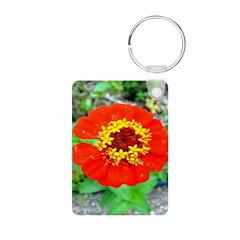 red flower Onondaga State Park Mo f Keychains
