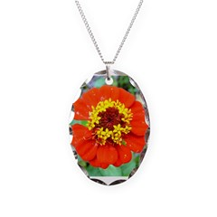 red flower Onondaga State Park Mo f Necklace