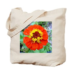 red flower Onondaga State Park Mo f Tote Bag