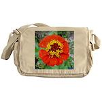 red flower Onondaga State Park Mo f Messenger Bag