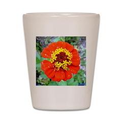 red flower Onondaga State Park Mo f Shot Glass