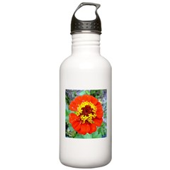 red flower Onondaga State Park Mo f Water Bottle