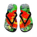 red flower Onondaga State Park Mo f Flip Flops