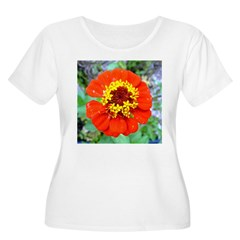 red flower Onondaga State Park Mo f Plus Size T-Sh