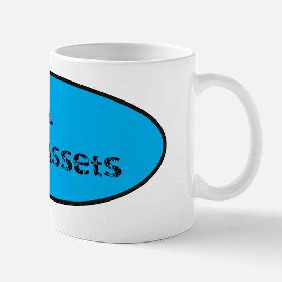 M.A. Minus Assets Mug