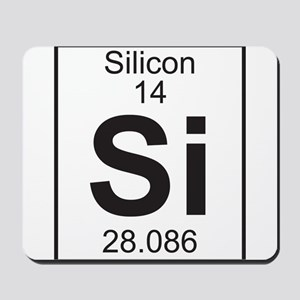 Element 14 - Si (silicon) - Full Mousepad