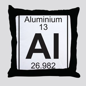 Element 13 - Al (aluminium) - Full Throw Pillow