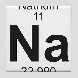 Element 11 - Na (natrium) - Full Tile Coaster