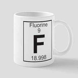 Element 9 - F (fluorine) - Full Mug