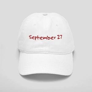 September 27 Cap