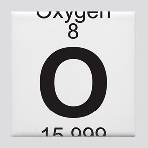 Periodic table oxygen coasters cafepress element 8 o oxygen full tile coaster urtaz Images