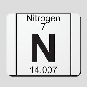 Element 7 - N (nitrogen) - Full Mousepad