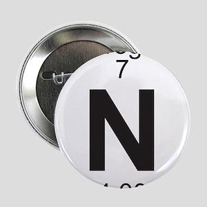 "Element 7 - N (nitrogen) - Full 2.25"" Button"