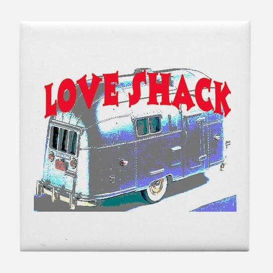 LOVE SHACK (TRAILER) Tile Coaster