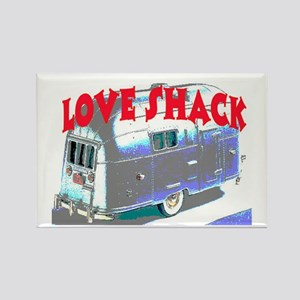 LOVE SHACK (TRAILER) Rectangle Magnet