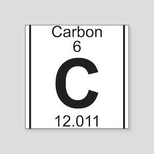 Periodic table carbon stickers cafepress element 6 c carbon full sticker urtaz Gallery