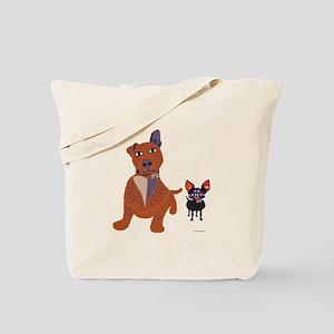 Dog Best Friends Tote Bag