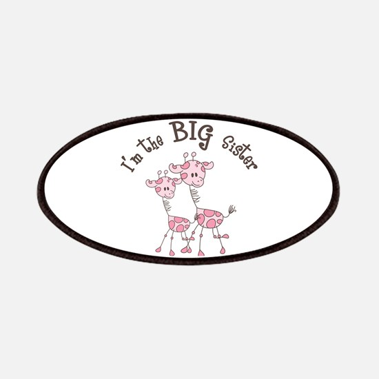 Big Sister Giraffes Patches