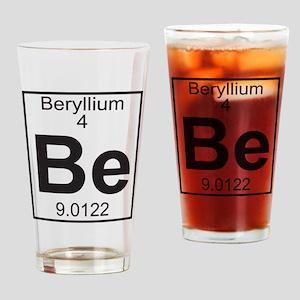 Element 4 - Be (beryllium) - Full Drinking Glass