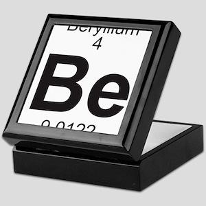 Element 4 - Be (beryllium) - Full Keepsake Box